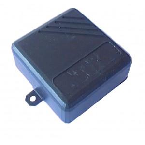Box 72mmx71mmx36mm Plastic Black