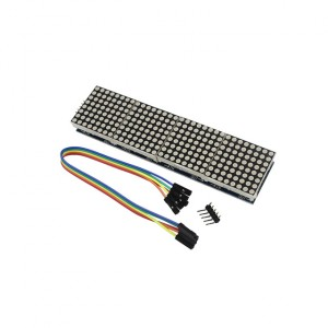 Dot Matrix Display Module for Arduino MAX7219 4-in-one