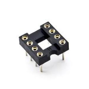8 PIN DIP HQ Gold Inlay IC Socket