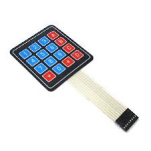 Keypad Membrane for Arduino