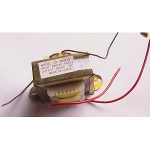 Transformer 2A 0-12V AC IN 240V AC 50Hz