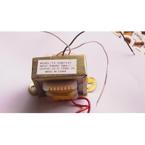 Transformer 16.5-0-16.5VAC 1.2 Amp