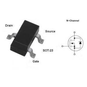 2N7002 60v SOT23 N-Channel Enhancement Mode Mosfet