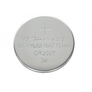 CR2025, 3V, Ø 20mm x 2.2mm (H) Lithium Battery