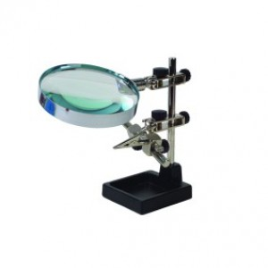 Helping Hands with Magnifier (Large)