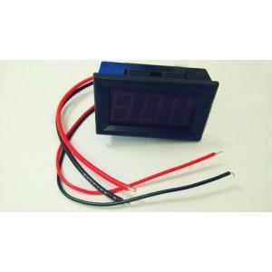 """LED 10A 0.56"""" Digital Ampere Panel meter DC0-10 (Red)"""